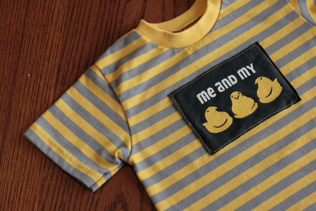 My Peeps Shirt with Free Printables