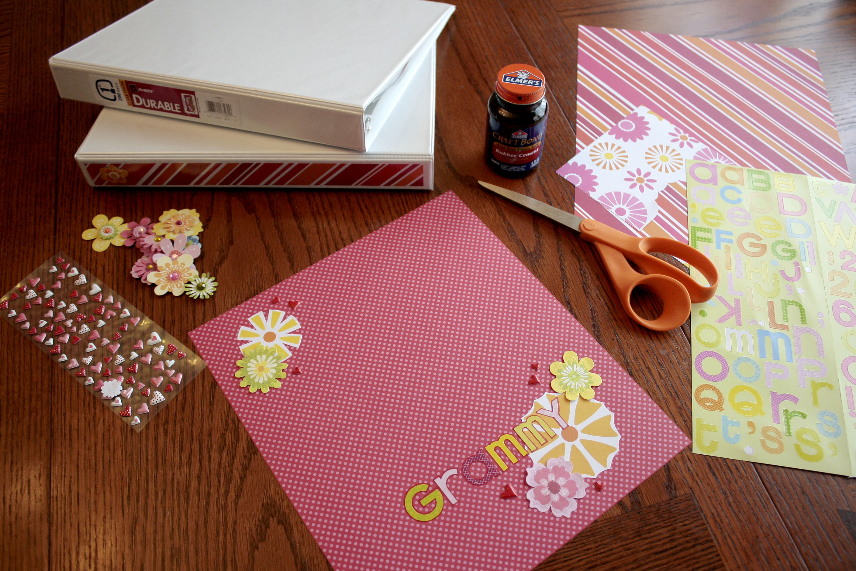 Mothers Day Memory Binder Craft Buds