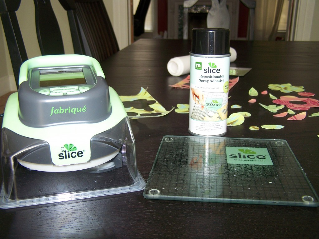 Slice Fabrique and repositionable adhesive