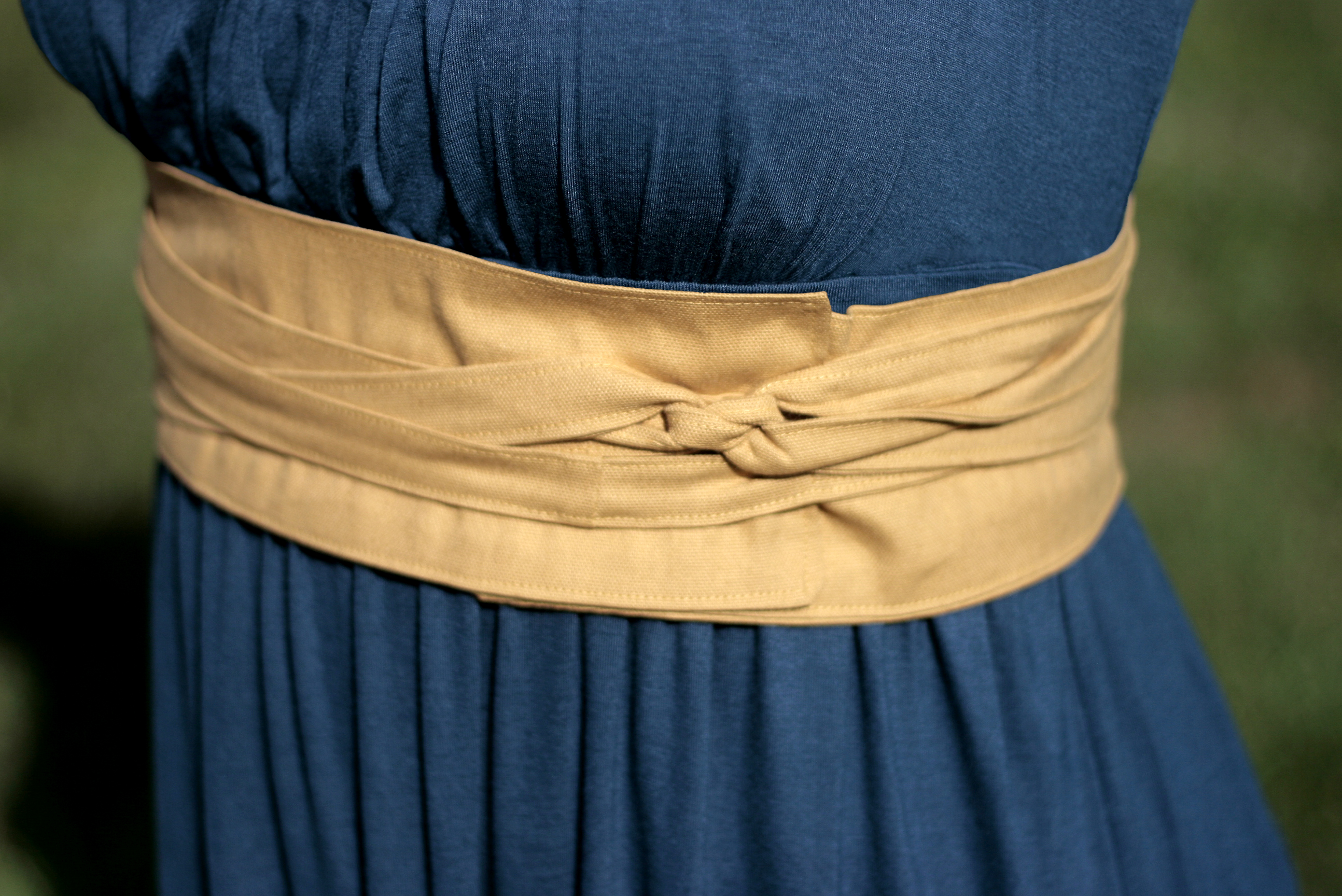 How to sew a belt