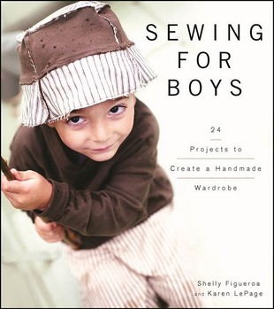 Sewing for Boys book
