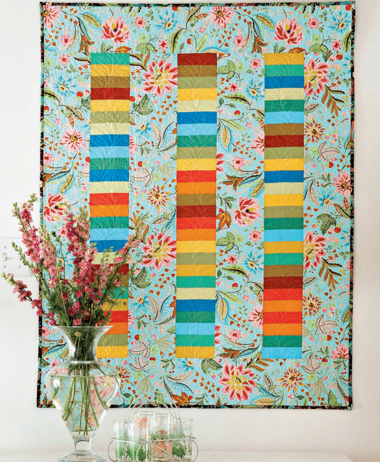 Strip Quilt Patterns For Free : diy sewing Craft Buds