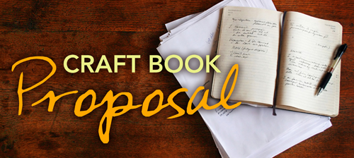 how to write a craft book proposal craft buds