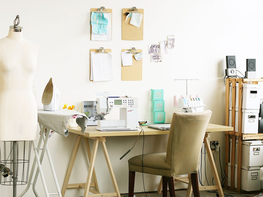 Sarai Mitnick Sewing Desk