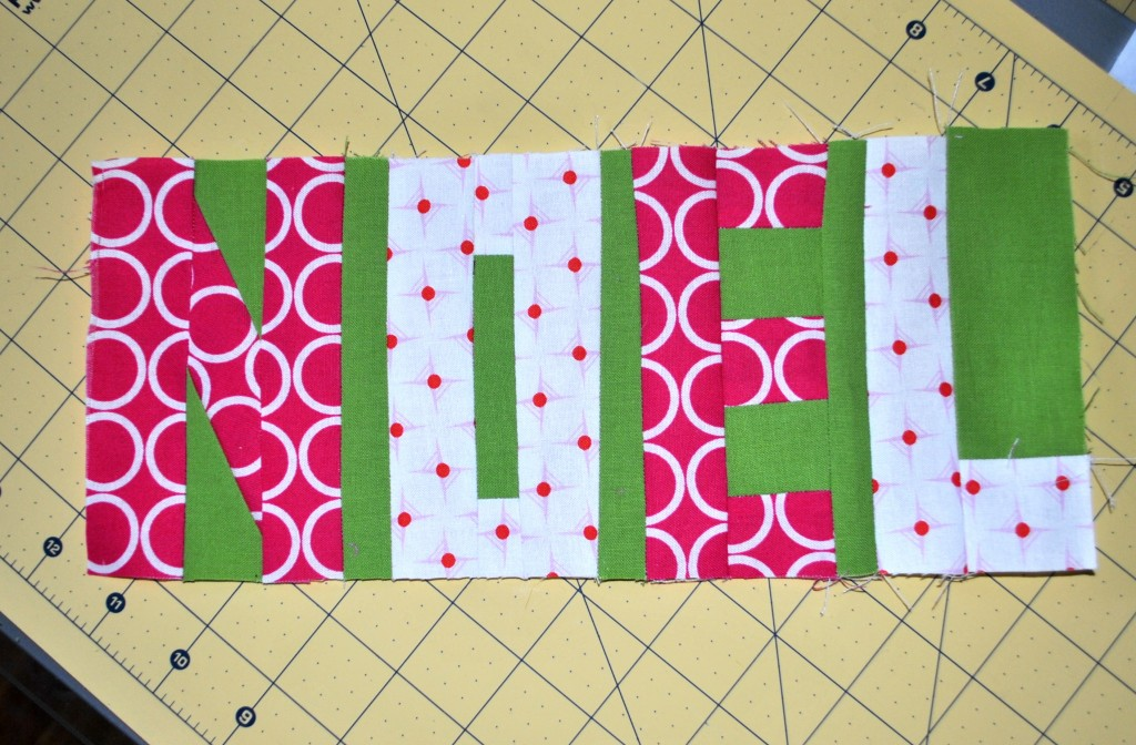 Noel Paper Pieced Block