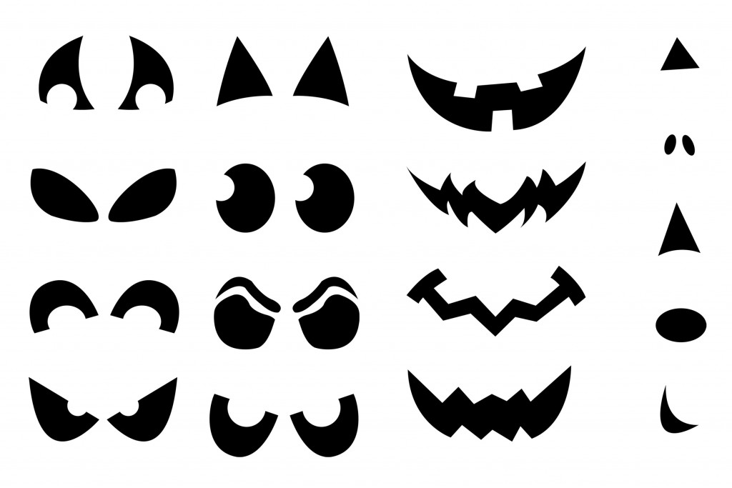 photo regarding Printable Ghost Face named Jack-o-Lantern Blouse Stencils Craft Buds