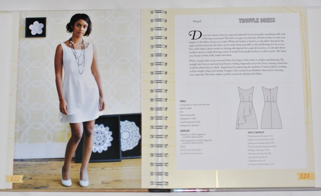 Colette Sewing Handbook Truffle Dress
