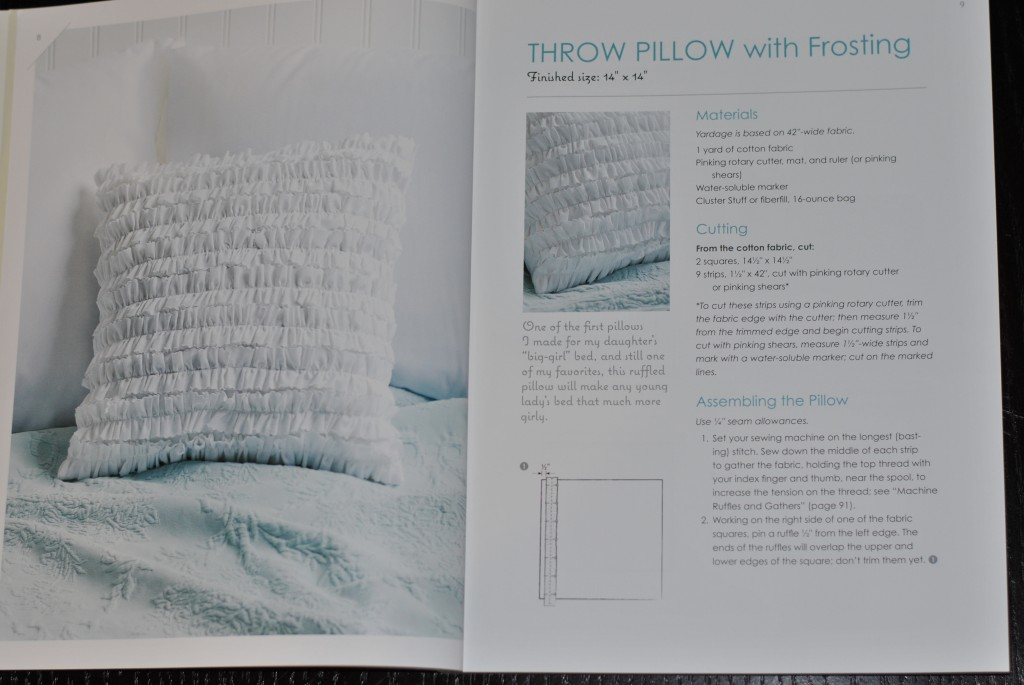 Make it Sew Modern book pillow