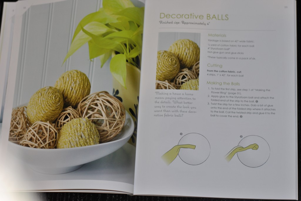 Make it Sew Modern book - decorative balls