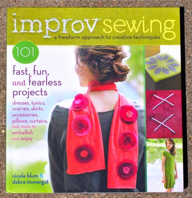 Improv Sewing book cover