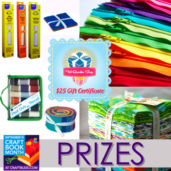 Craft Book Month Prizes