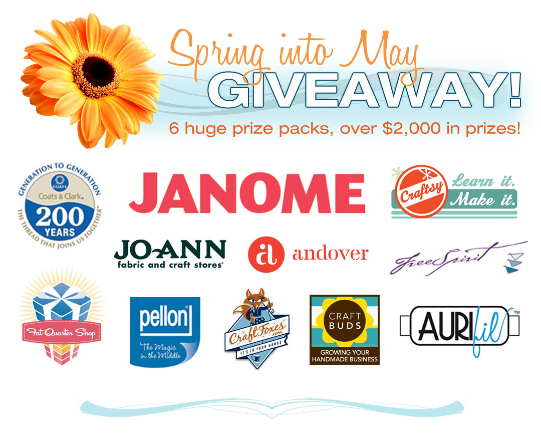 Enter The Spring Into May Giveaway