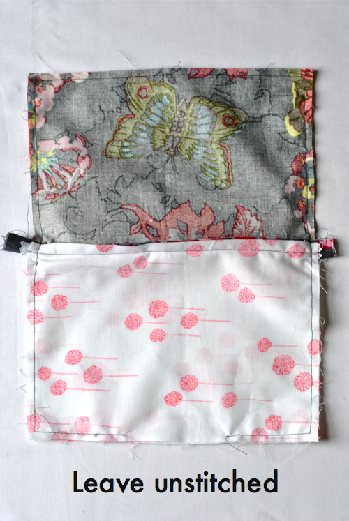 Easy Lined Zipper Pouch Craft Buds