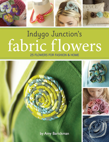 Indygo Junction's Fabric Flowers + Giveaway!