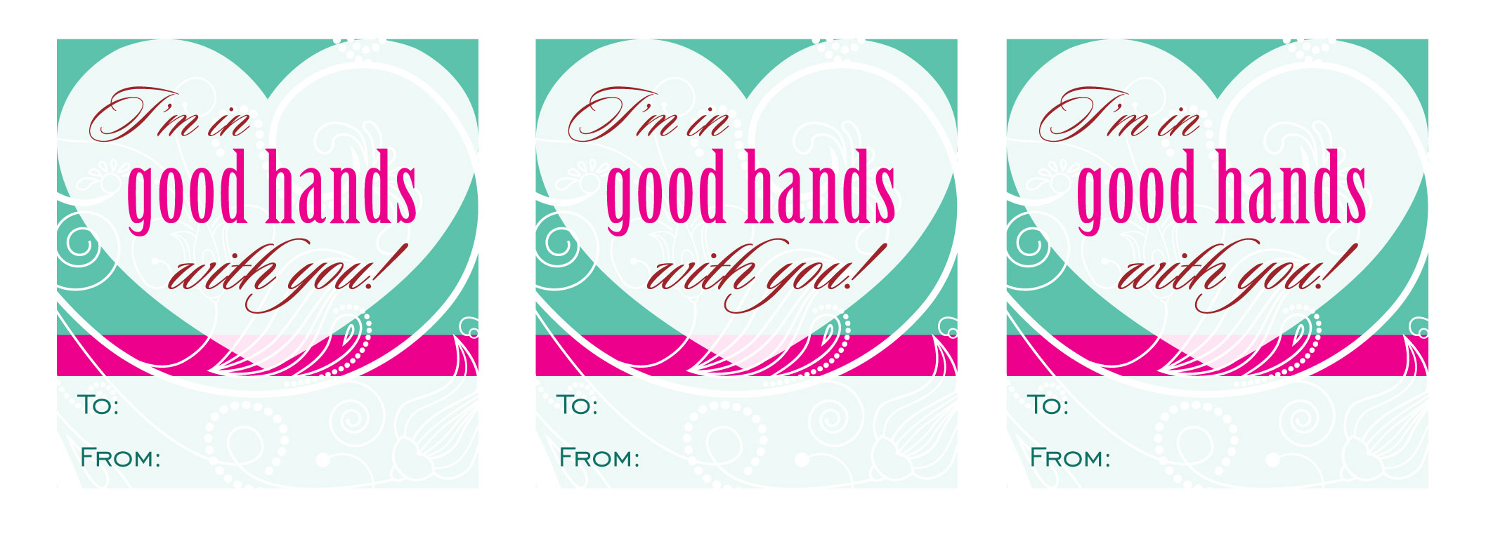 image regarding Teacher Valentine Printable named Inside Wonderful Fingers\u201d Printable Instructor/Caregiver Valentine Craft