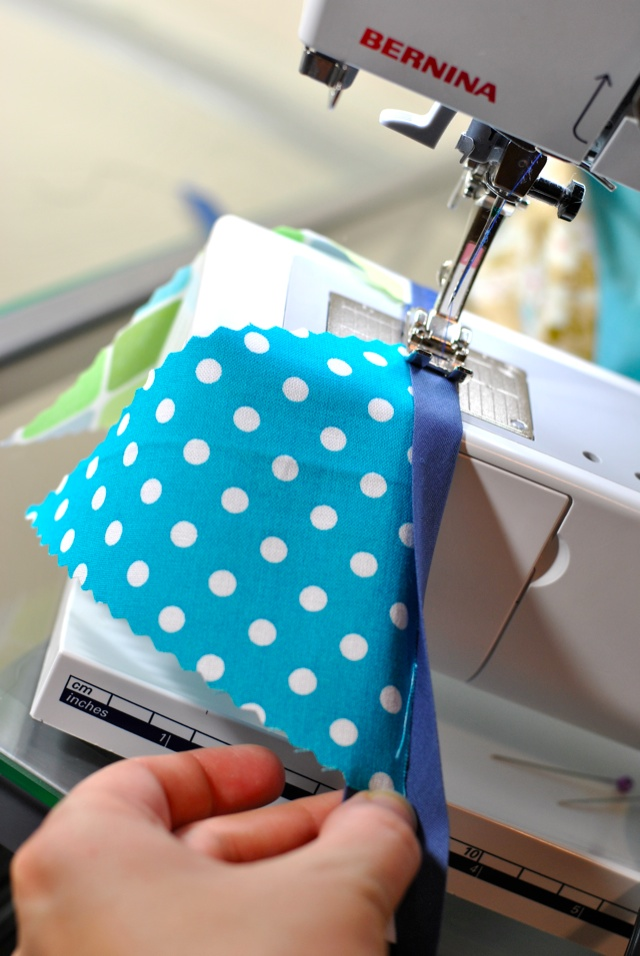 how to sew a bunting