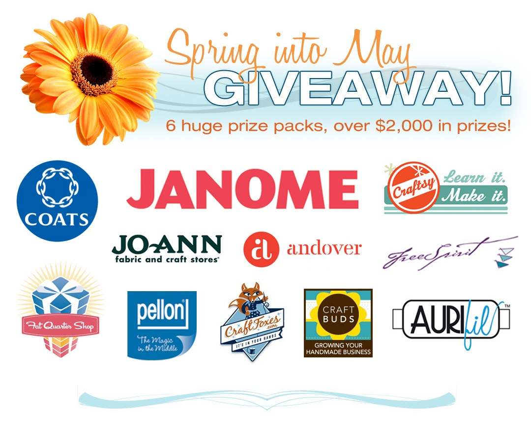 Win a Janome Sewing Machine, Fabric, Thread + More!