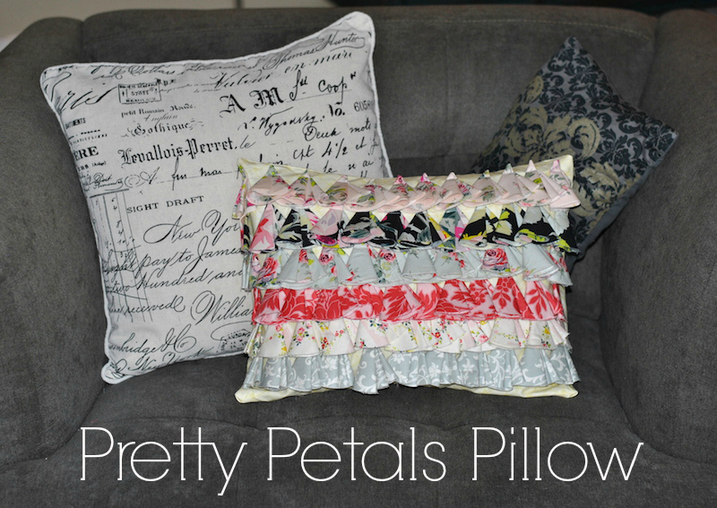 Flower Pillow DIY 3