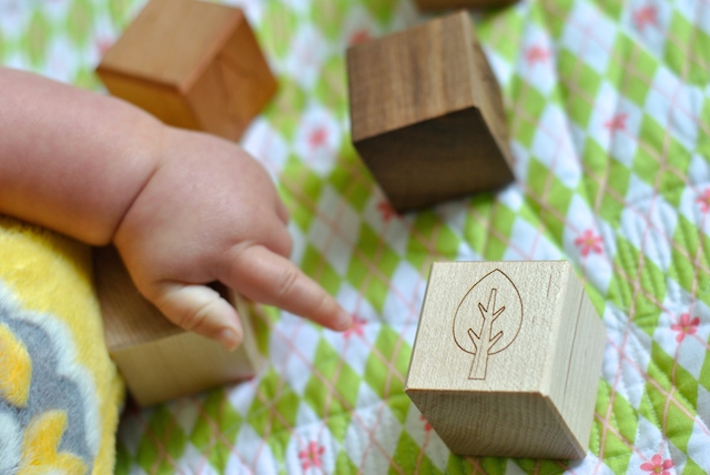 Little Saplling Toys Personalized Wooden Blocks