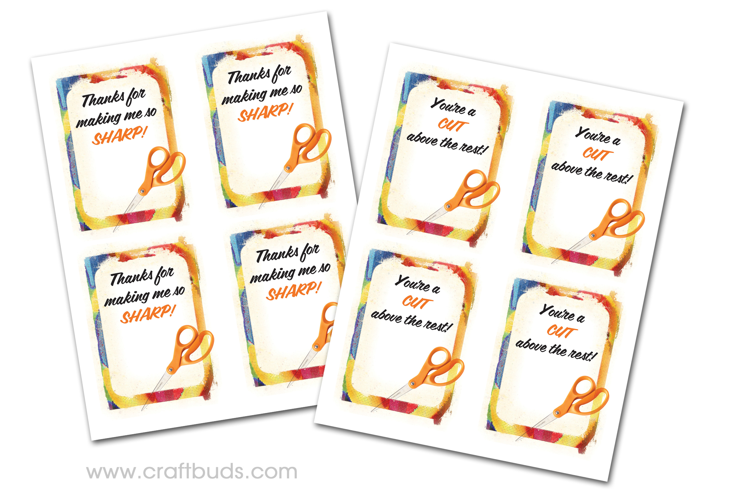graphic relating to Free Printable Teacher Appreciation Gift Tags named Instantaneous Trainer Appreciation Present! (+ Totally free Printable) Craft Buds