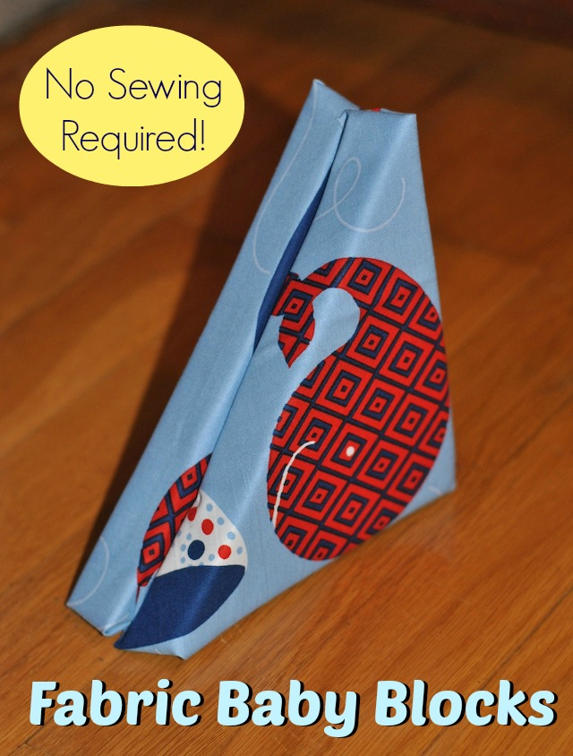 Fabric Baby Blocks Tutorial at Craft Buds