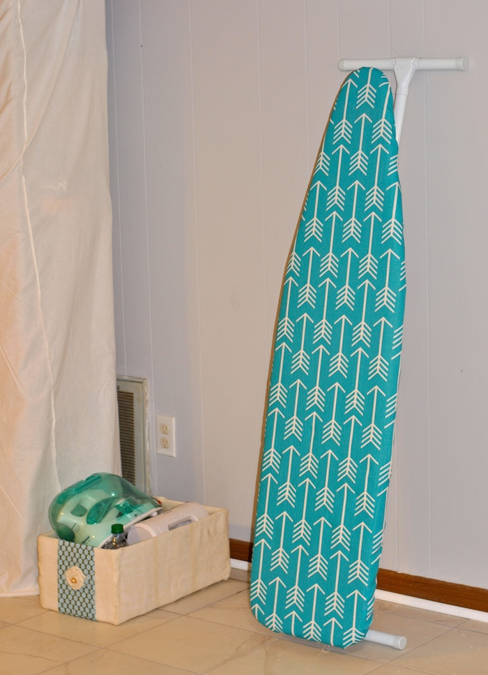 Ironing Board with Fabric Storage Box