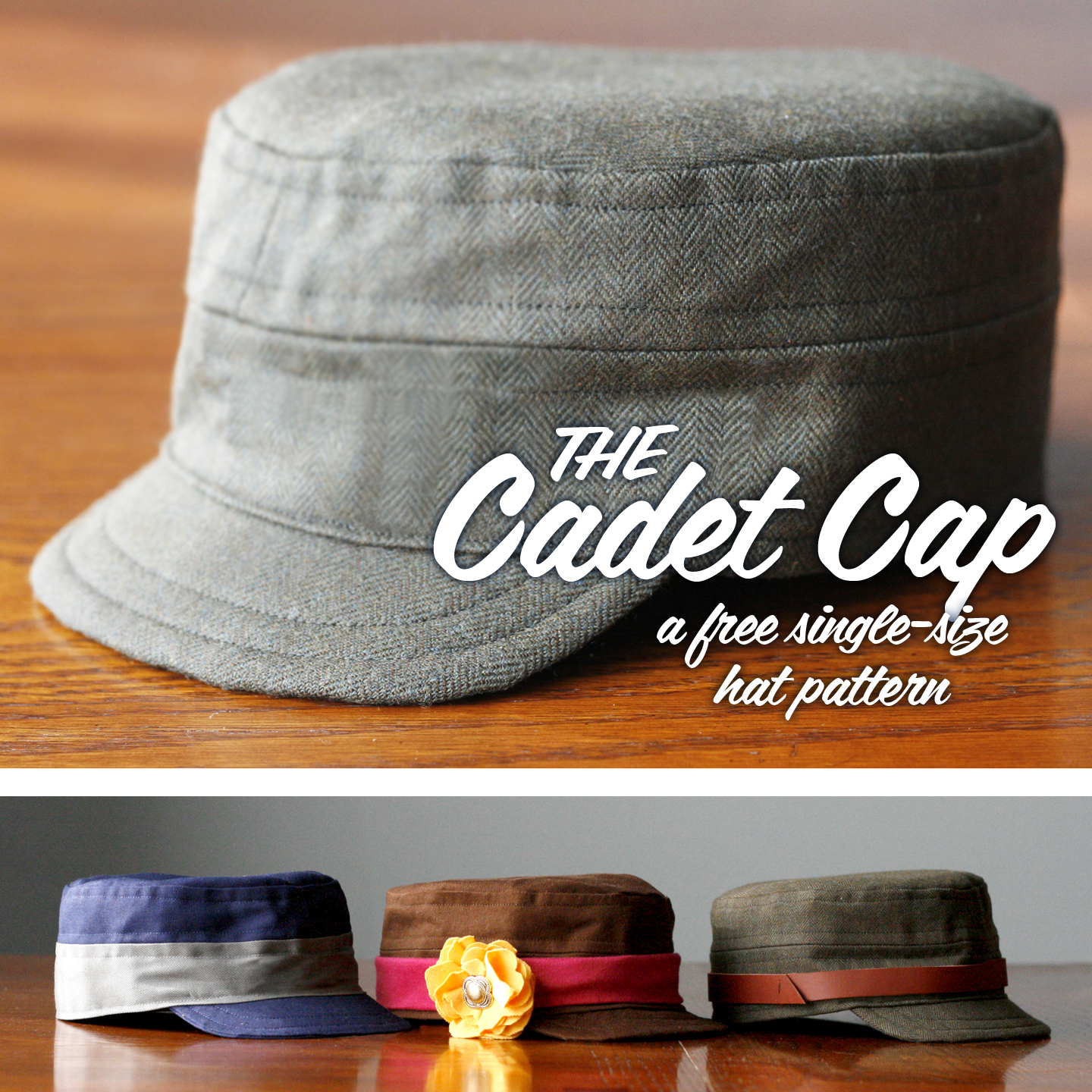 Free cadet cap pattern craft buds the instructions are at the britex blog now here on craft buds and you can download the free cadet cap pattern here from craftsy jeuxipadfo Image collections