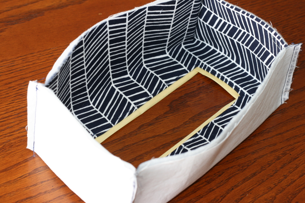 Sew a tissue box cover for any size box! @ Craft Buds