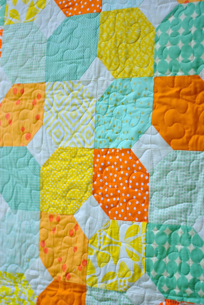 Baby Quilt Blocks.Citrus And Mint Baby Quilt Free Pattern Craft Buds