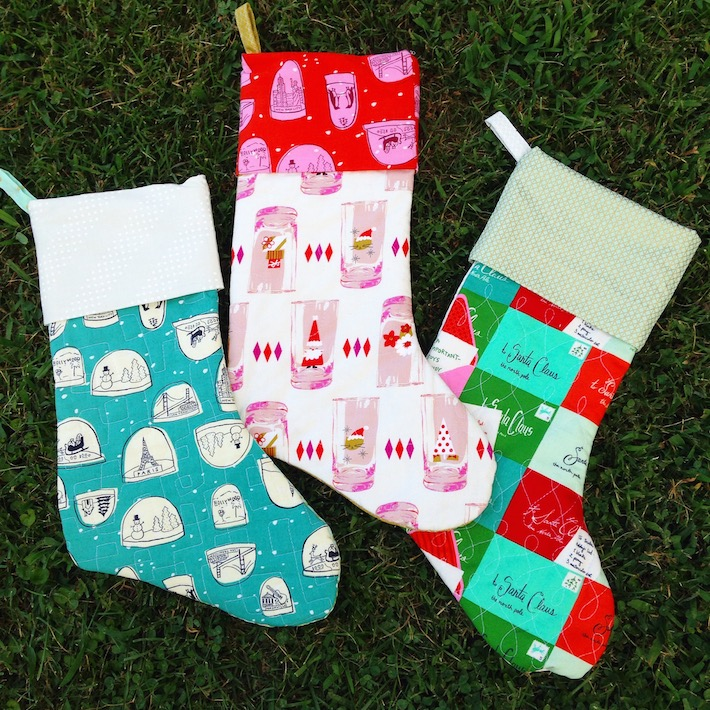 Holly Jolly Stocking Pattern by LindsaySews.com | Craft Buds