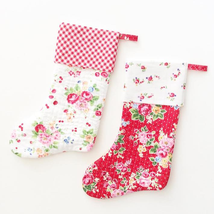 Holly Jolly Stockings by Clover and Violet
