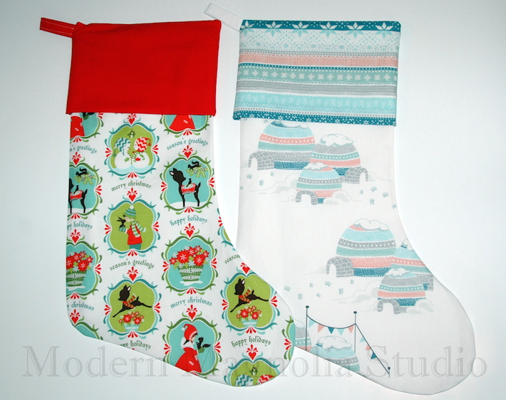 Holly Jolly Stockings by Modern Magnolia