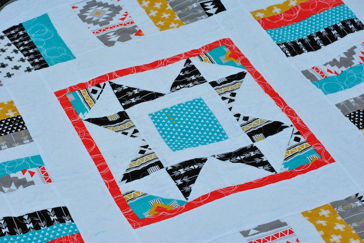 """Park Blanket"" Pattern Revamp in Four Corners Fabric 