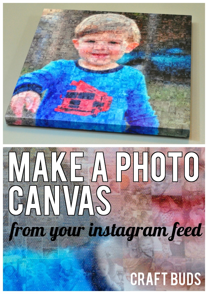 Instagram Photo Canvas Craft Buds