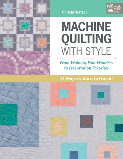 Machine Quilting with Style book review