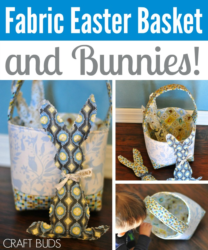 DIY Fabric Easter Basket