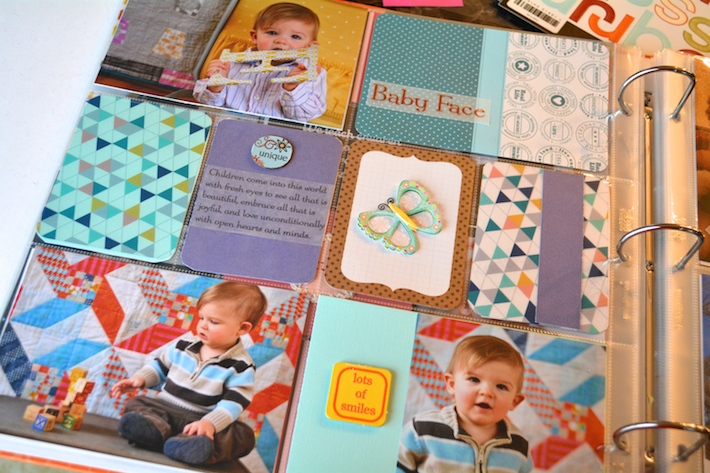 Project Life Baby Scrapbook 1