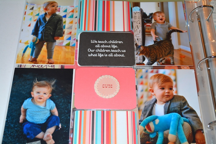 Project Life Baby Scrapbook 3