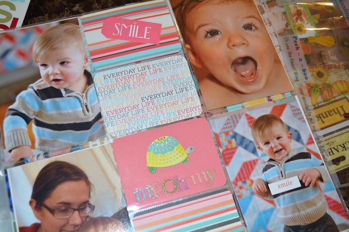 Project Life Baby Scrapbook 4