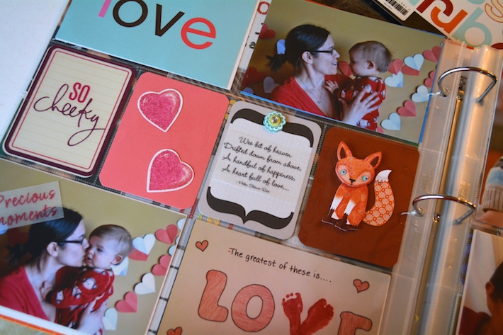 Project Life Baby Scrapbook 5
