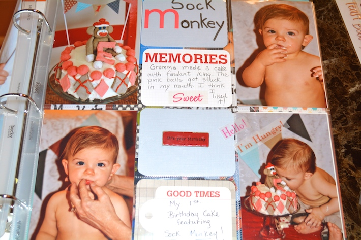 Project Life Baby Scrapbook 7