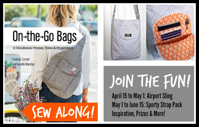 On the Go Bags Sew Along