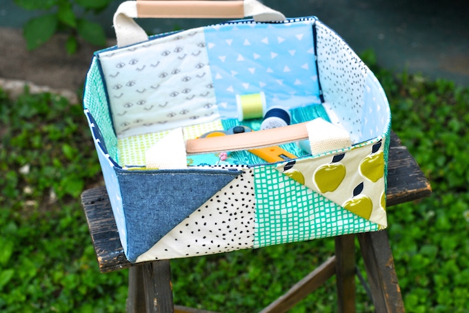 Patchwork Basket - Craftsy review