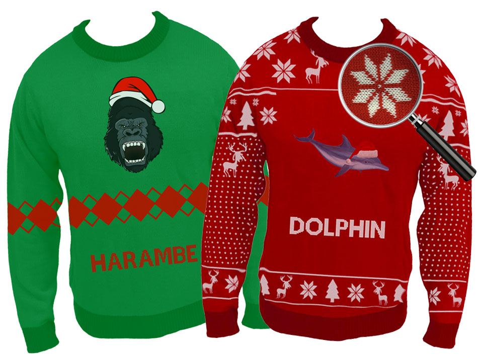 make ugly christmas sweater