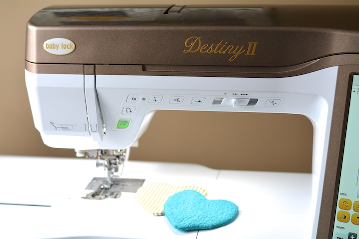 Baby Lock Destiny II sewing machine