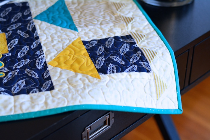 Home Sweet Home mini quilt sneak peek