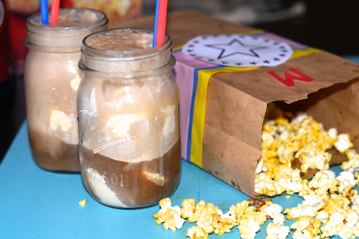DIY Popcorn Bags and Dr Pepper Floats