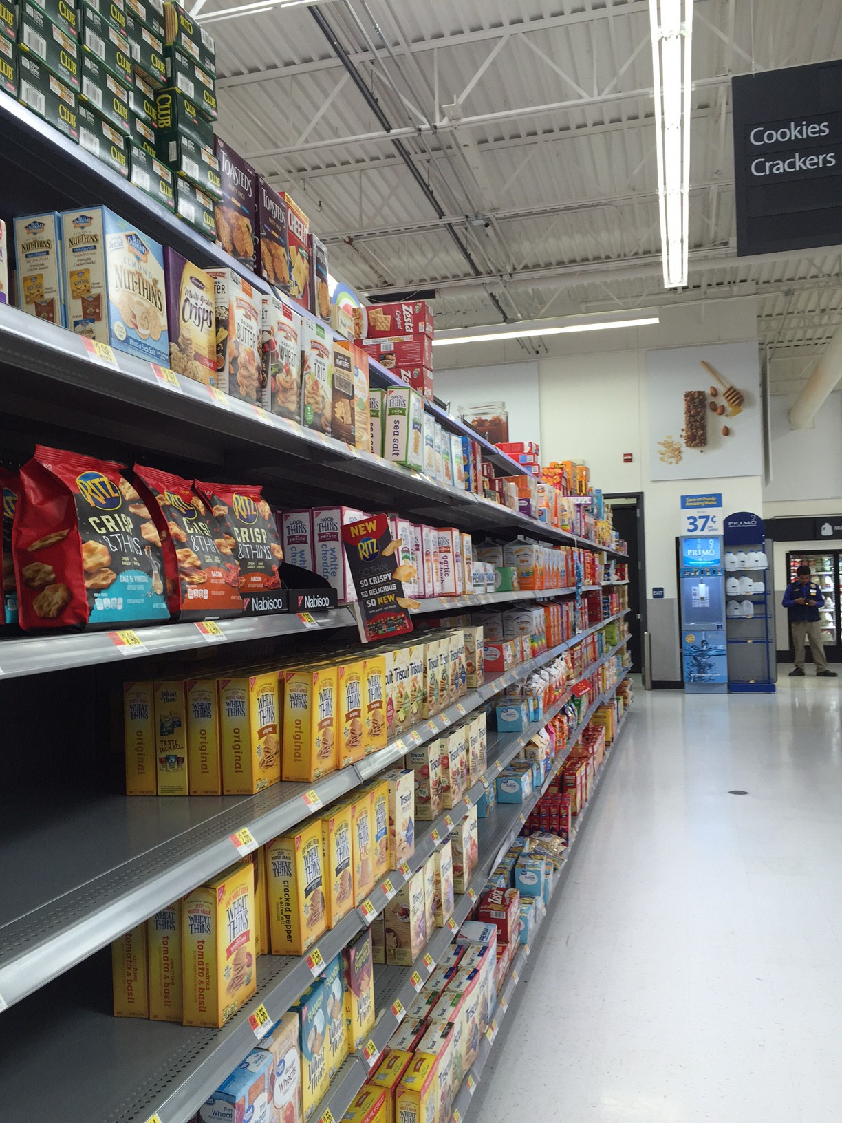 Crackers aisle