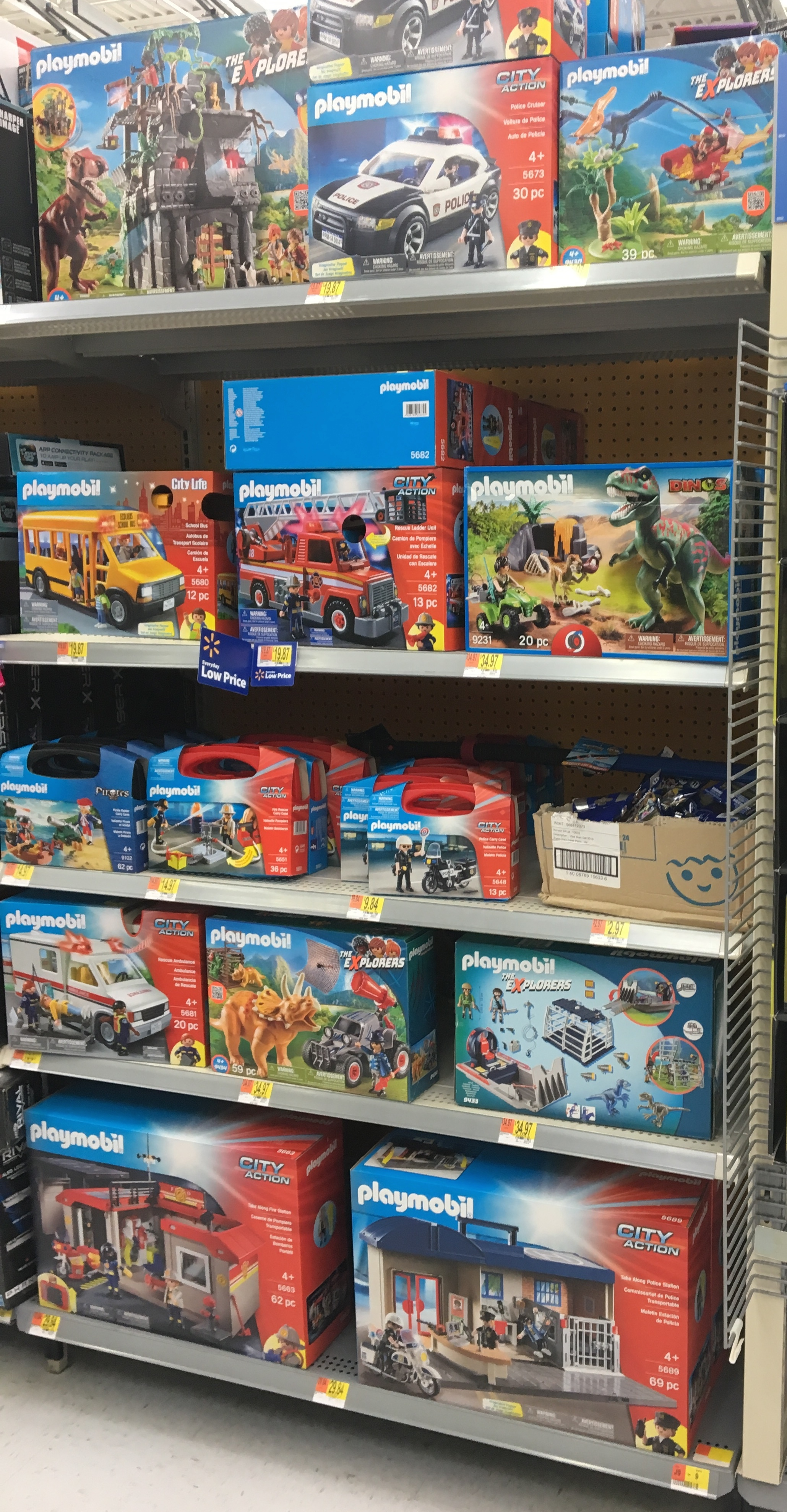 Playmobil now at Walmart stores