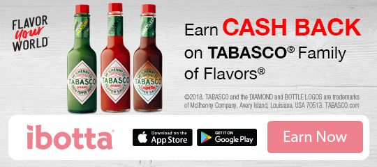 Tabasco ibotta offer